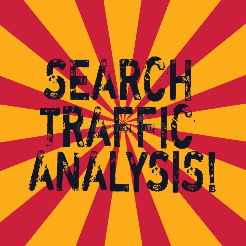 Słowo pisze tekst rewizji ruchu drogowego analizie Biznesowy pojęcie dla sieci bandwidth monitorowanie oprogramowania lub zastoso obraz stock