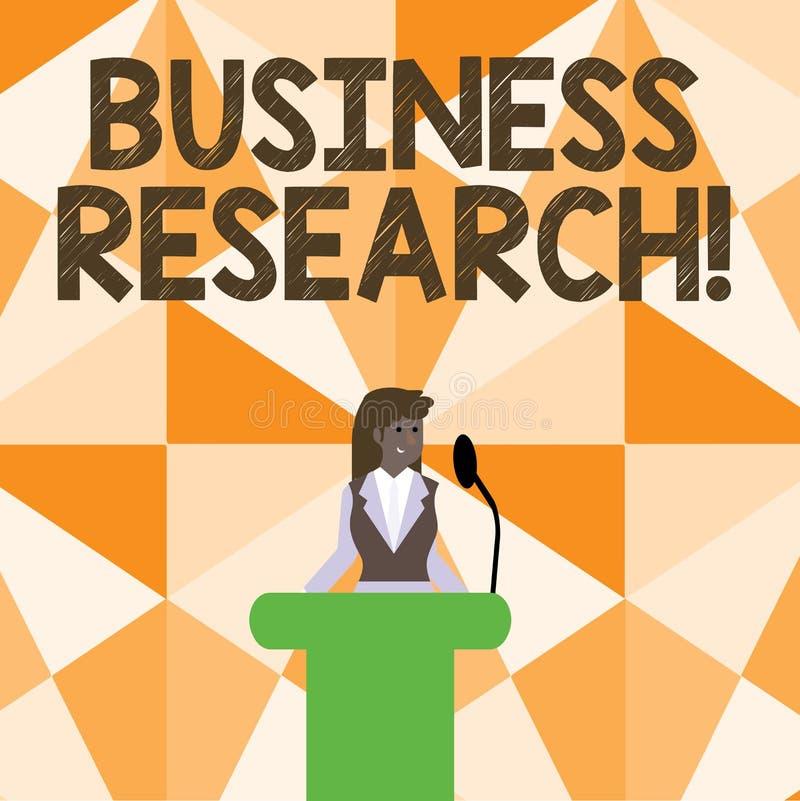 Słowo pisze tekstowi Biznesowym badaniu Biznesowy pojęcie dla procesu nabywanie szczegółowa informacja biznes royalty ilustracja