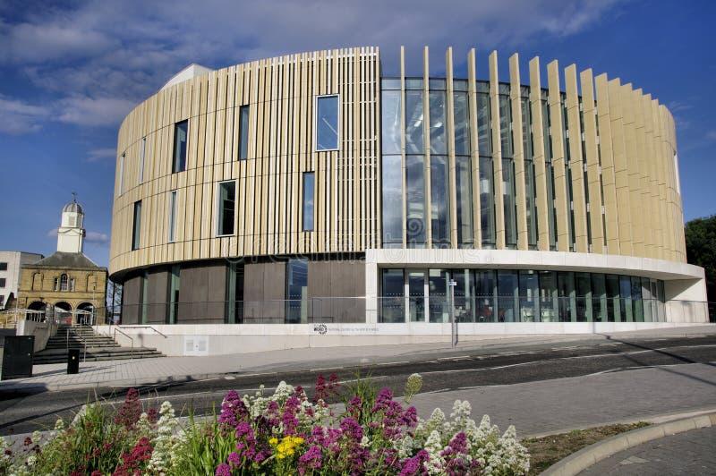Słowo przy South Shields, Południowy Tyneside zdjęcia royalty free