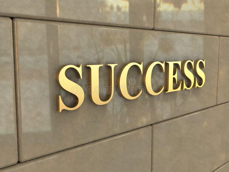 Słowo sukces zdjęcie royalty free