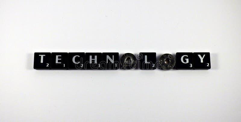 Słowo technologia obraz stock