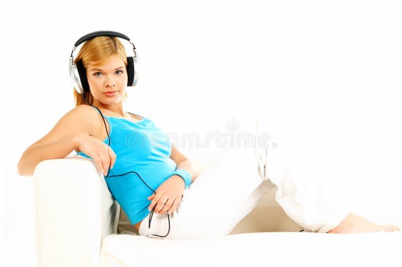 słuchał muzyki fotografia royalty free