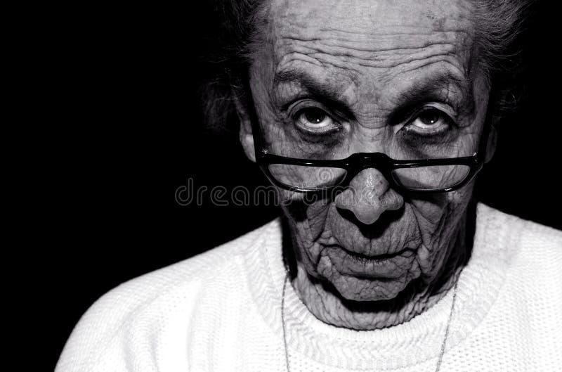 słuchaj swojej babci obraz stock