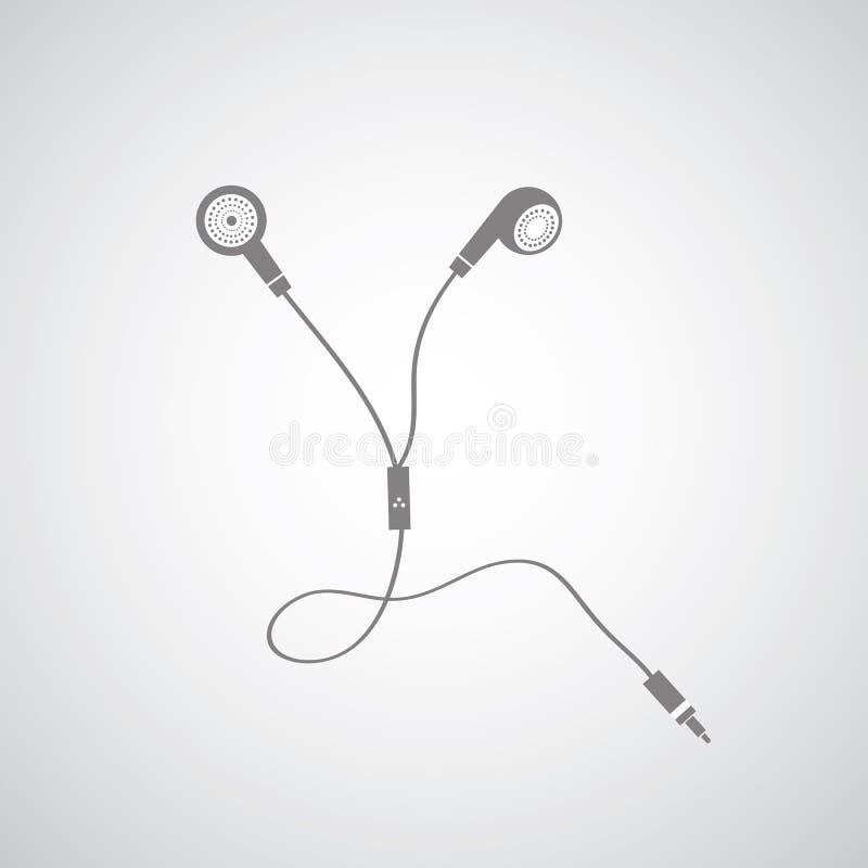 Słuchawka symbol ilustracja wektor