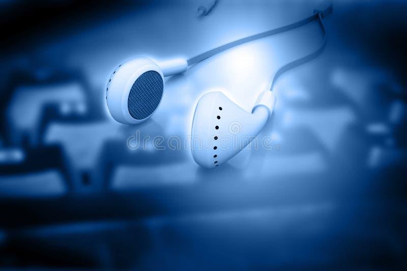 Słuchawka z klawiaturą royalty ilustracja