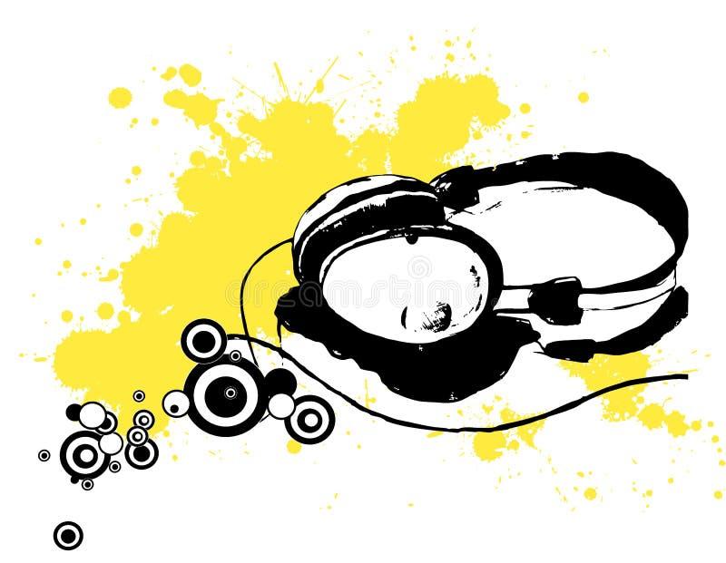 słuchawki ilustracji