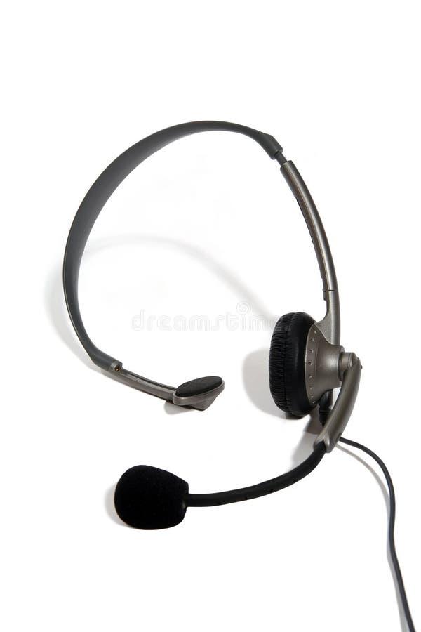 słuchawki klienta usług zdjęcia stock