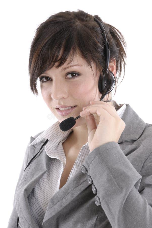słuchawki kobieta obrazy royalty free