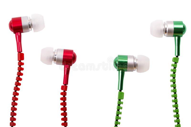 Słuchawki muzykalna próżnia zdjęcie stock