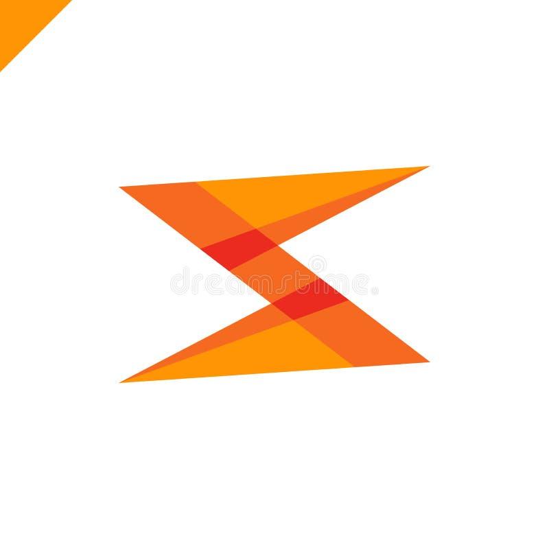 S信件商标象传染媒介设计 企业略写法想法 皇族释放例证