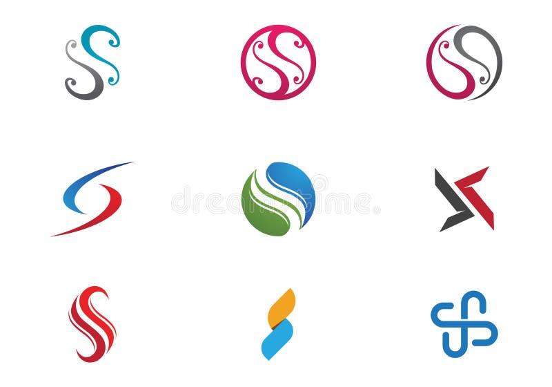 S信件和S商标 向量例证