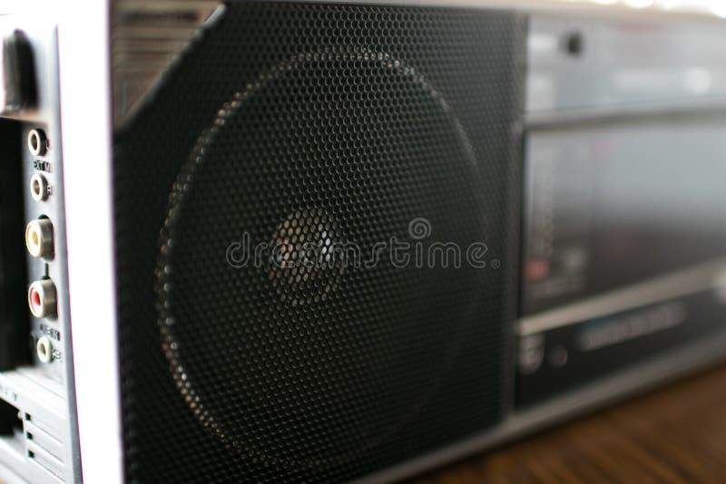 90 ` s收音机speake 免版税图库摄影