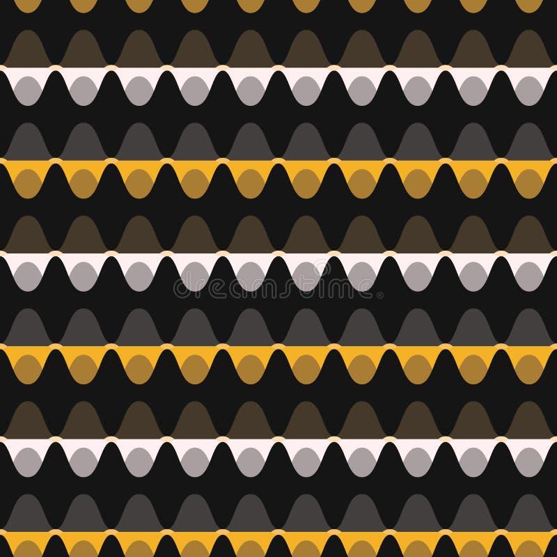 1960s вводят картину в моду вектора нашивки точки безшовную бесплатная иллюстрация