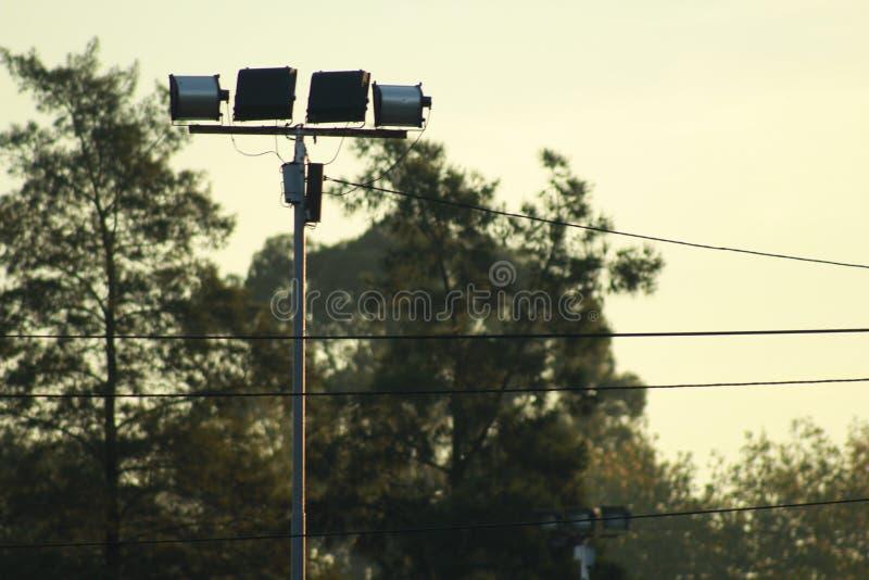 ` S луны Argentineans и флаг проводов стоковое изображение