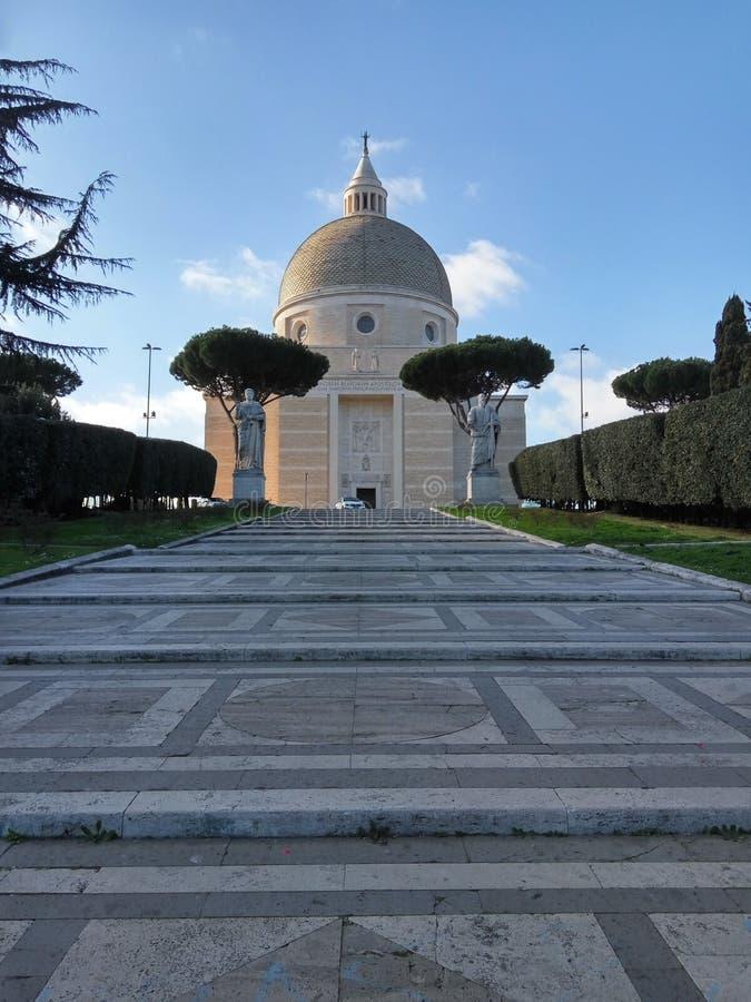 S Церковь Pietro и paolo стоковое фото