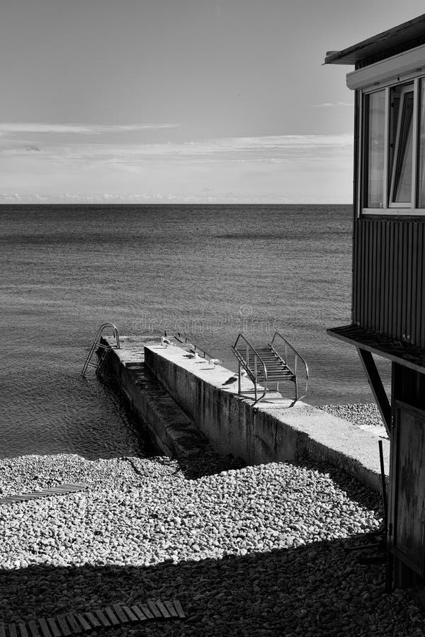 ` S Чёрное море Крыма стоковые изображения