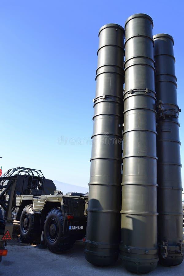 S-300防空导弹系统 免版税库存图片