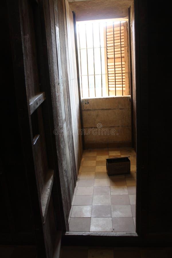 S-21 gevangeniscel stock afbeeldingen