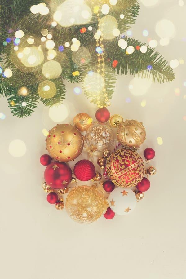 s'arrêter de Noël de bille photos stock