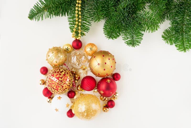 s'arrêter de Noël de bille photographie stock
