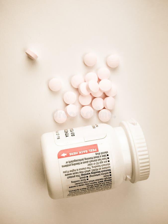 ` S Aspirin de los niños fotografía de archivo libre de regalías
