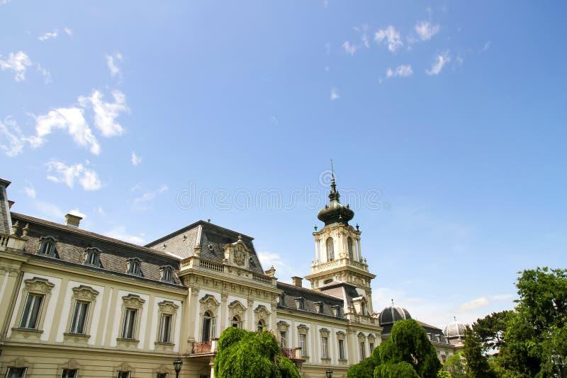 Download Sławny kasztel w Keszthely zdjęcie stock. Obraz złożonej z balaton - 53791742