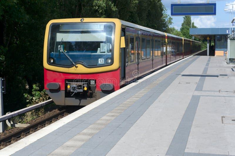 S-Bahn stock image