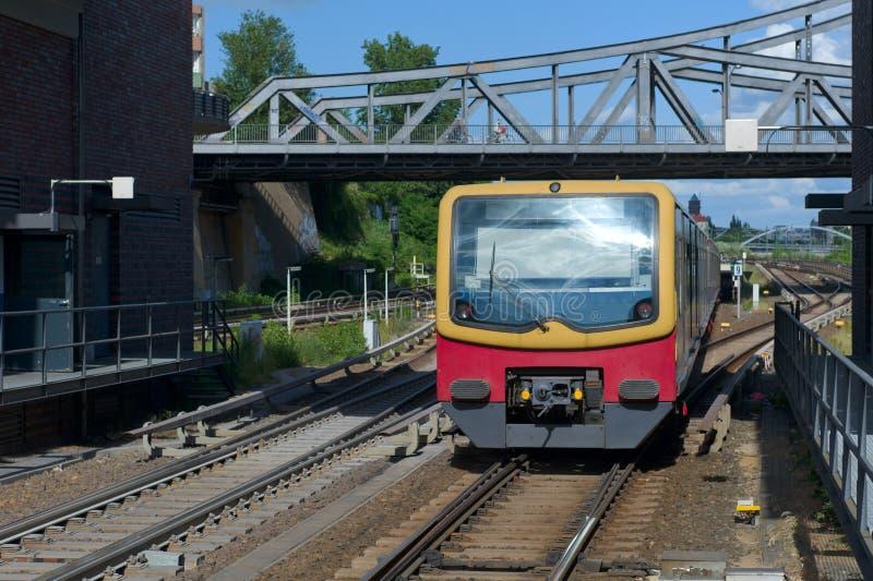 S-Bahn stock photography