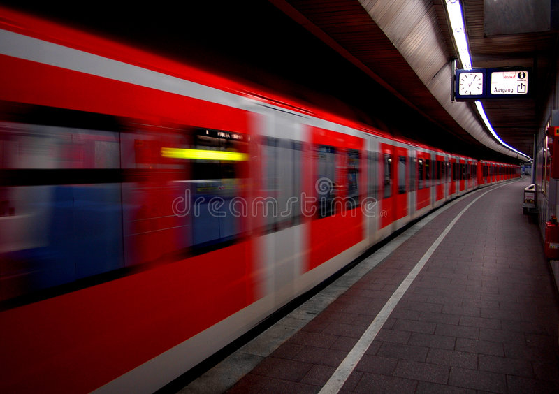 S-bahn royalty free stock images