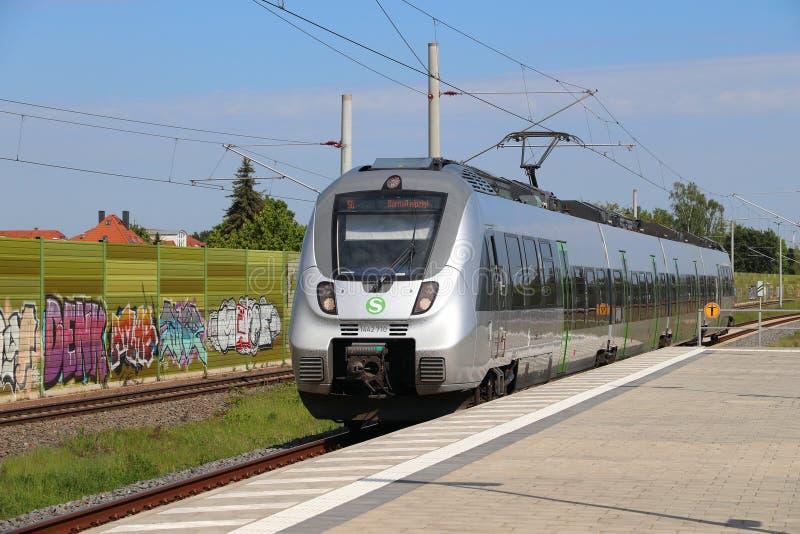 S-Bahn Germania centrale immagine stock
