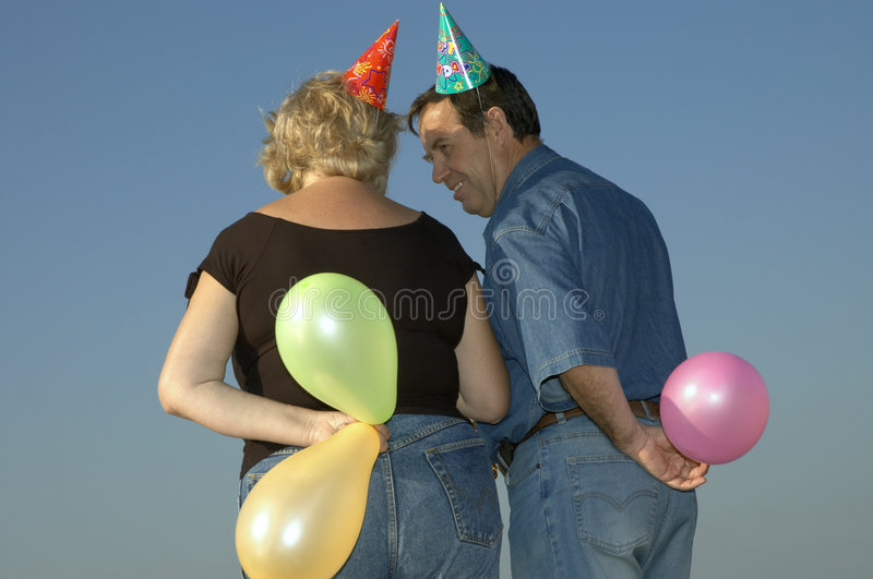Download It's birthday! stock image. Image of fair, back, love, meeting - 270827