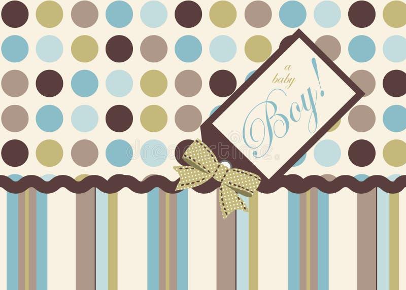 It's a Boy! stock illustration