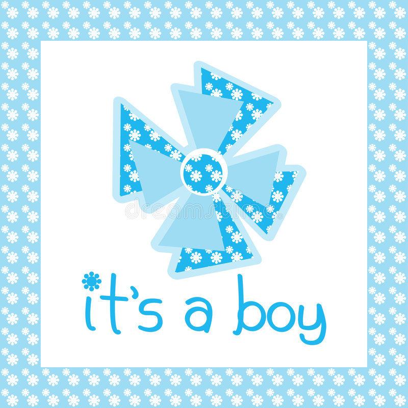 Download It's a boy stock illustration. Illustration of birth, happiness - 8585619