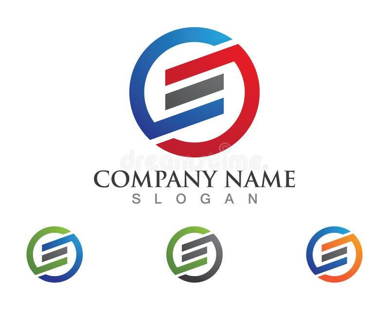 S-Buchstabe-Logo lizenzfreie abbildung