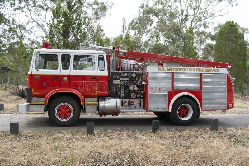 S a Camion metropolitano di corpo nazionale dei vigili del fuoco - parco nazionale di Belair immagine stock libera da diritti