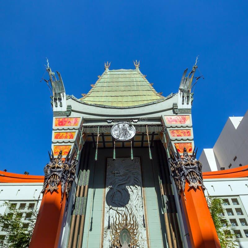 s chiński grauman theatre zdjęcie stock