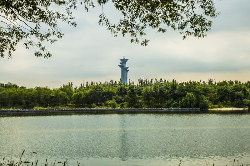 ` S Chinas Peking Landschaft stockbilder
