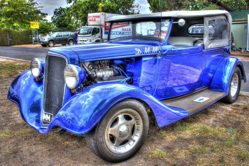 1930s classic American Chevy sedan stock images