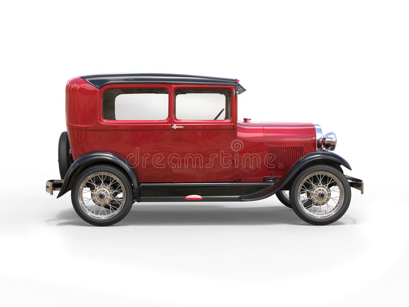 1920s cool oldtimer car stock images