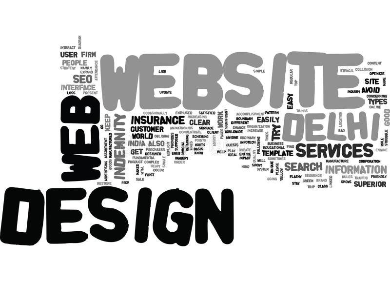 It S Crucial For Your Site Word Cloud Concept vector illustration
