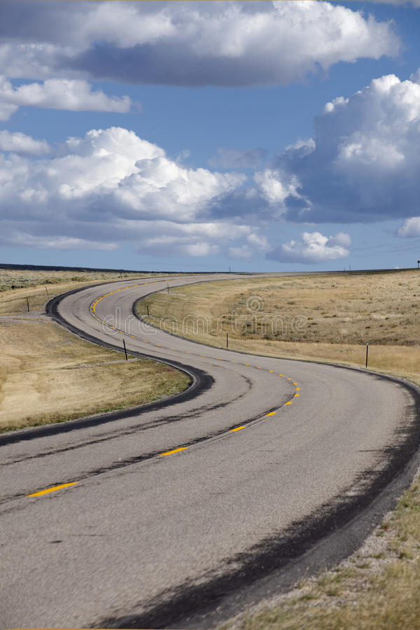Download S-curve in roadway stock photo. Image of empty, mountain - 21854500