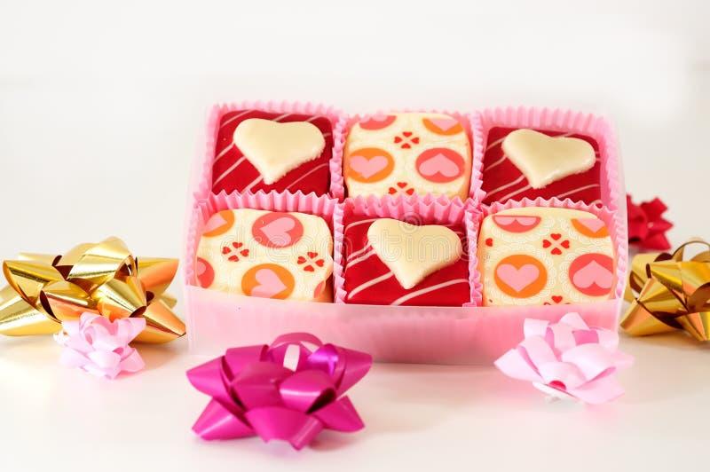 s czekoladowy valentine zdjęcia stock