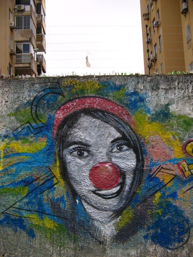 South American Street Art, Guayana City, Venezuela stockbild