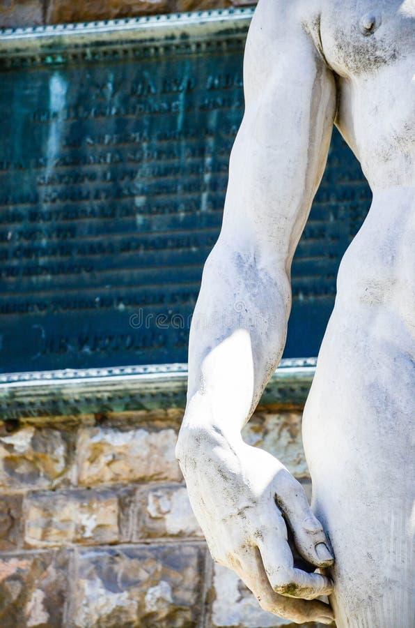 ` S David, Florence Italy de Michaël Angelo photos libres de droits