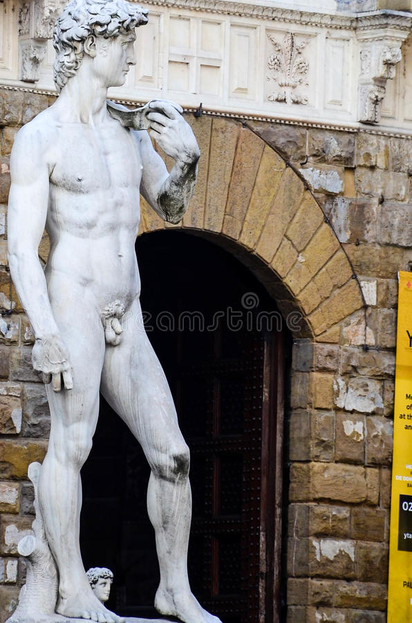 ` S David, Florence Italy de Michaël Angelo images stock