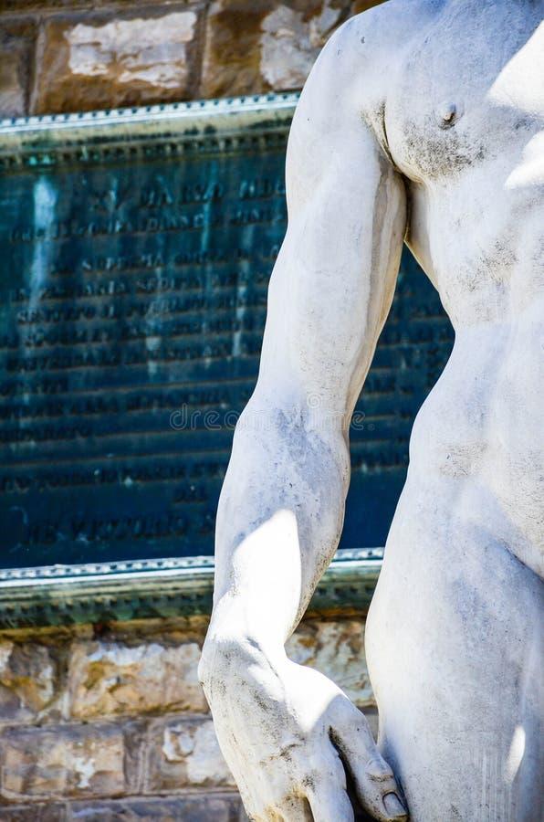 ` S David, Florence Italy de Michaël Angelo photos stock