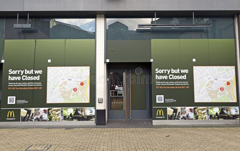 ` S de McDonald image stock