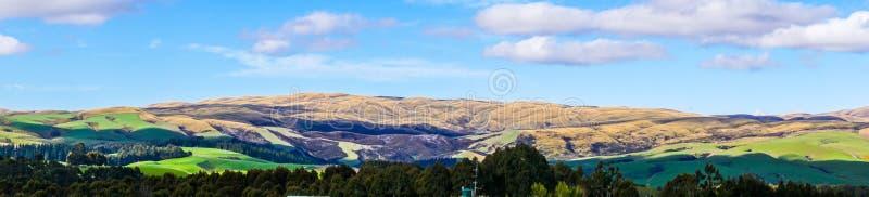 ` S de Miller plano en Roxburgh en Nueva Zelanda imagenes de archivo