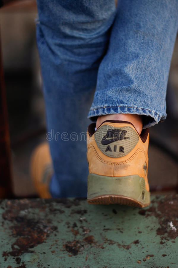 ` S de Nike Air Max 90 foto de stock royalty free