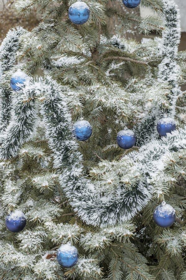` S de nouvelle année et décorations de Noël photos stock